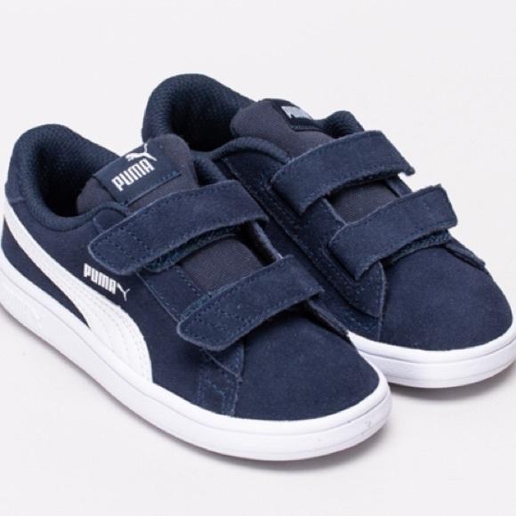 promo code 593d6 44961 PUMA Smash v2 Suede Sneakers INF NWT